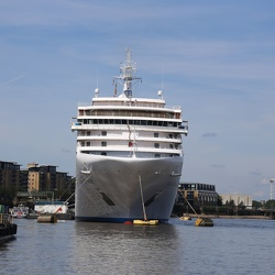 Silver Spirit in London (Greenwich) on 3June 2018